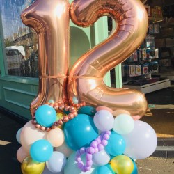 Personalised Number Balloon Bouquet