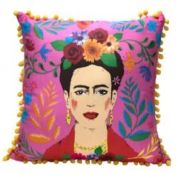 Boho Pink Tassel Frida Kahlo™ Cushion