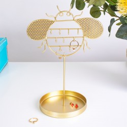 Gold Bee Jewellery Stand