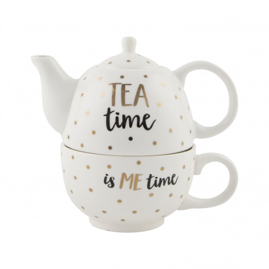 Gold Tea Time Tea For One