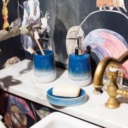 Mojave Glaze Blue Soap Dispenser
