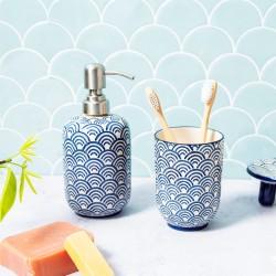 Blue Wave Soap Dispenser