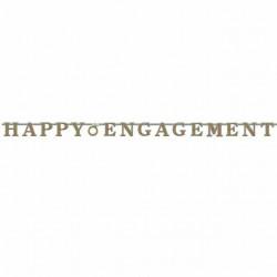 Prismatic Engagement Letter Banner, 3m.