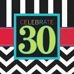 30th Birthday Napkins