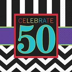 50th Birthday Napkins