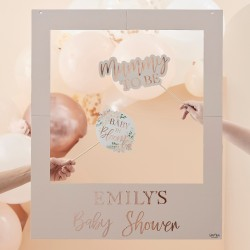 Customisable Baby Shower Photobooth Frame