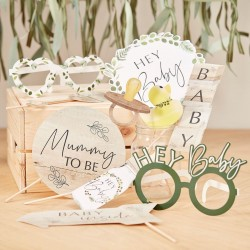 Botanical Baby Shower Photo Props