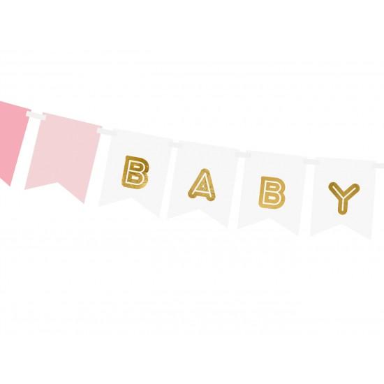 Baby Girl Baby Shower Bunting