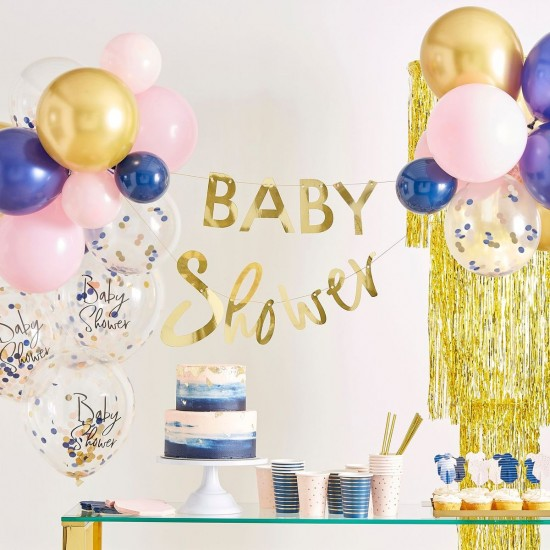 Baby Grow Baby Shower Banner