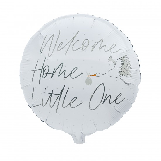 Welcome Home Little One Balloon
