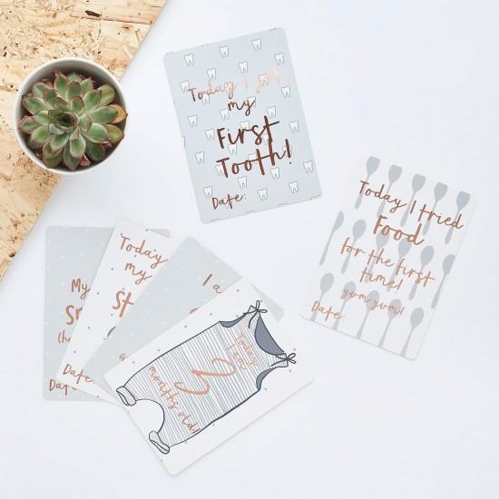 Baby Prediction Cards & Canvas Bag