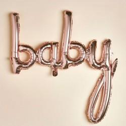 Rose Gold Baby Balloon