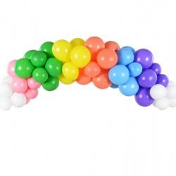 Rainbow Balloon Arch Kit Garland