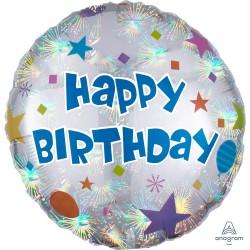 Birthday Confetti Foil Balloon