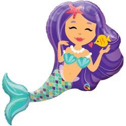 Enchanting Mermaid Super Shape Balloon