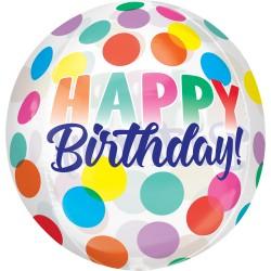 Happy Birthday Big Dots Balloon