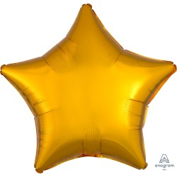 Metallic Gold Star Balloon