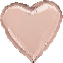 Rose Gold Heart Balloon