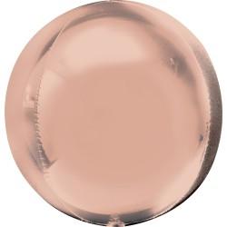 Rose Gold Orb Balloon