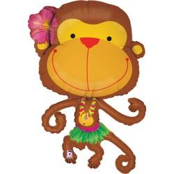 "Monkey Foil Balloon 39"""