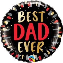 "Best Dad Ever Foil Balloon 18"""