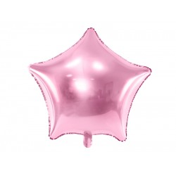 "Pink Star Foil Balloon, 19""( 48 cm)"