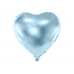 "Blue Heart Foil Balloon 45cm (18"")"