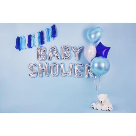 "Blue Heart Foil Balloon 45cm (18"")"