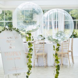 """Orb Balloons With Vine Foliage 36"""""""