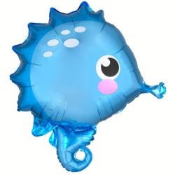 "Seahorse Balloon 21"", Mermaid Party Balloons"