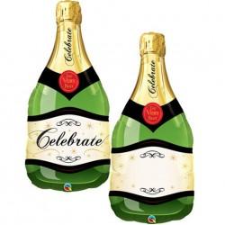 "Champagne Bottle Foil Balloon 39"""