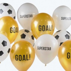 12 Party Champions Balloons