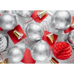 Silver Glossy Party Balloon