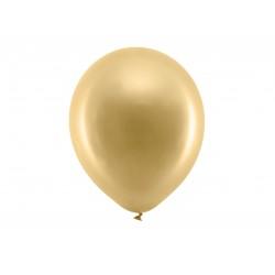 Metallic Gold Latex Balloons