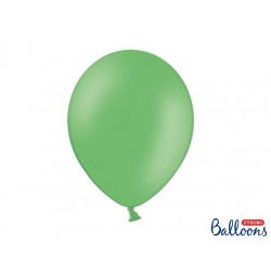 10 Pastel Green Latex Balloons