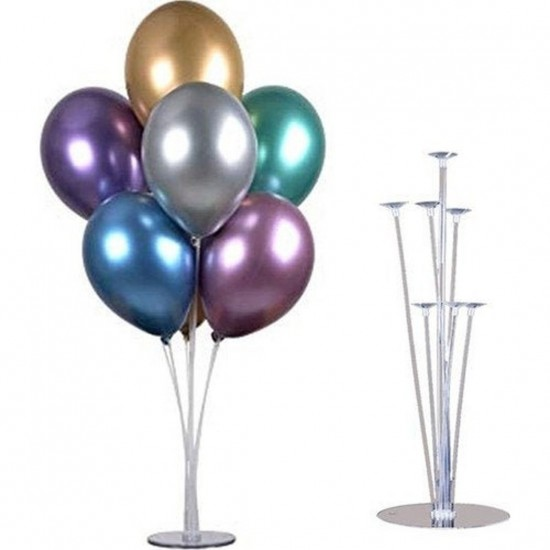 Table Balloon Stand Kit with 7 Reflex Balloons