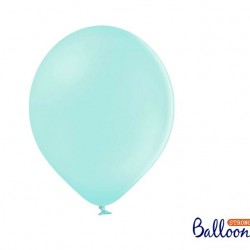 10 Pastel Light Mint Balloons