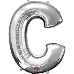 Letter C Silver