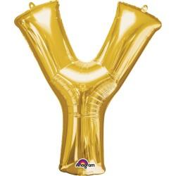 Letter Y Gold