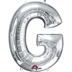 Letter G Silver