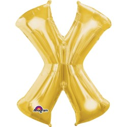 Letter X Gold
