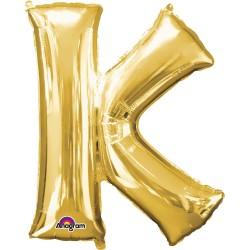 Letter K Gold