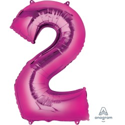Number 2 Pink