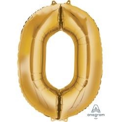 Number 0 Gold