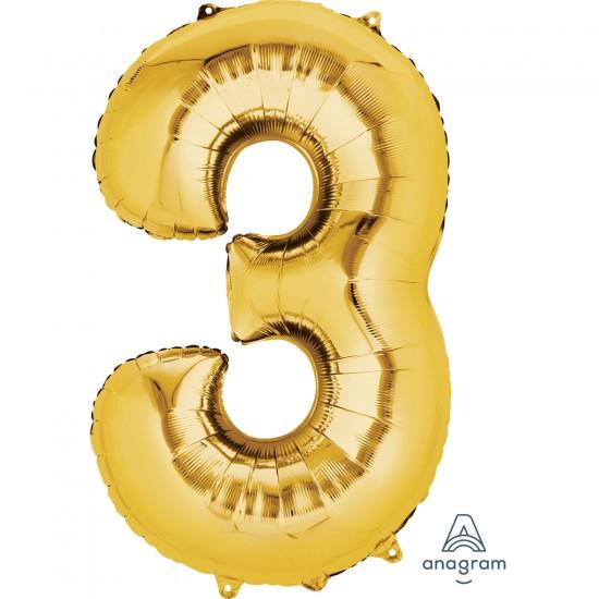 Number 3 Gold