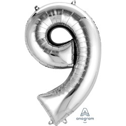 Number 9 Silver