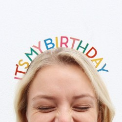Birthday Brights Rainbow It's My Birthday Headband