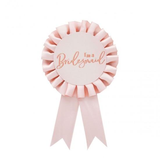 Bridesmaid Badge