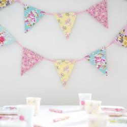 Tea Party Decorations Floral Banner