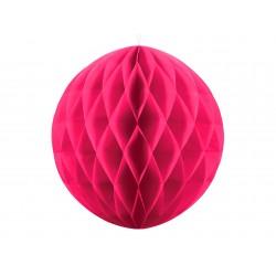Dark Pink Honeycomb Hanging Decoration Ball